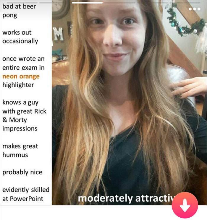 Girl's Tinder Profile Hilariously Explains Why You Should Date Her, And Now Everyone Wants To Swipe Right