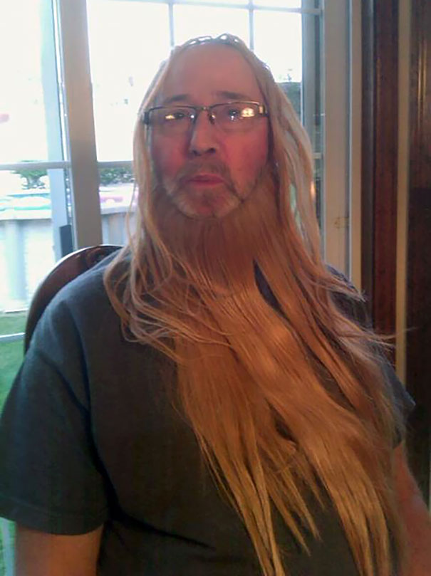 My Uncle Found My Cousin's Hair Extensions, And Sent The Whole Family Glamour Shots