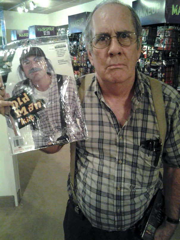 My Uncle Found A Halloween Costume Of Himself