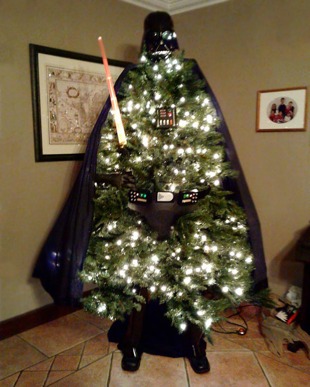 My Uncle's Christmas Tree This Year