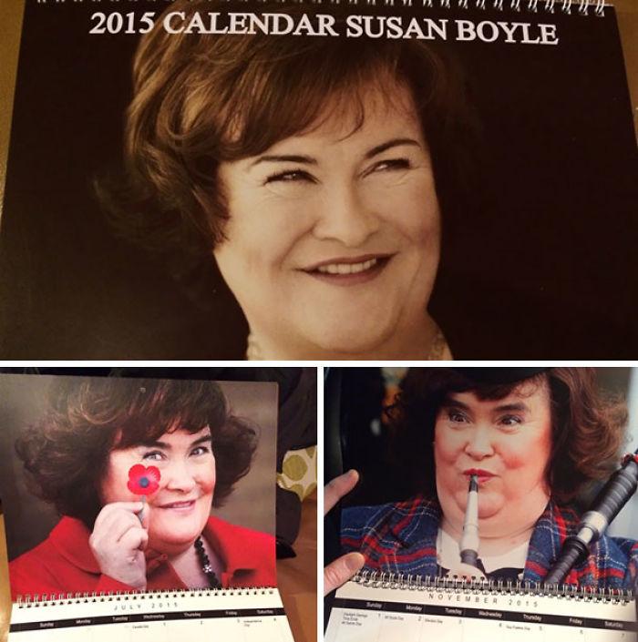 Mi tío escocés me manda un calendario todos los años