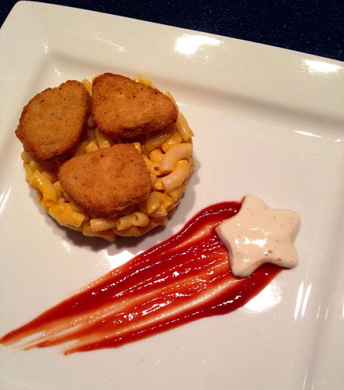 Cuando eres chef en un restaurante de 5 estrellas pero tu sobrino quiere nuggets y macarrones con queso