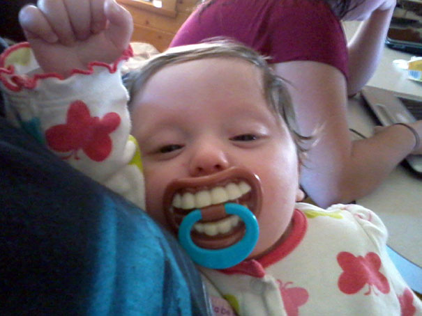 Uncle Got Her A Pacifier