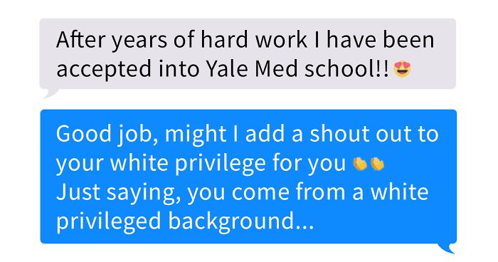 Girl Shames Friend For Achieving Everything Because Of 'White Privilege,' But It Totally Backfires
