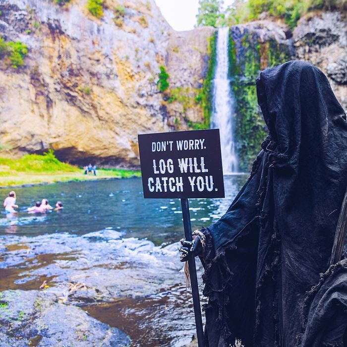 The Swim Reaper Instagram