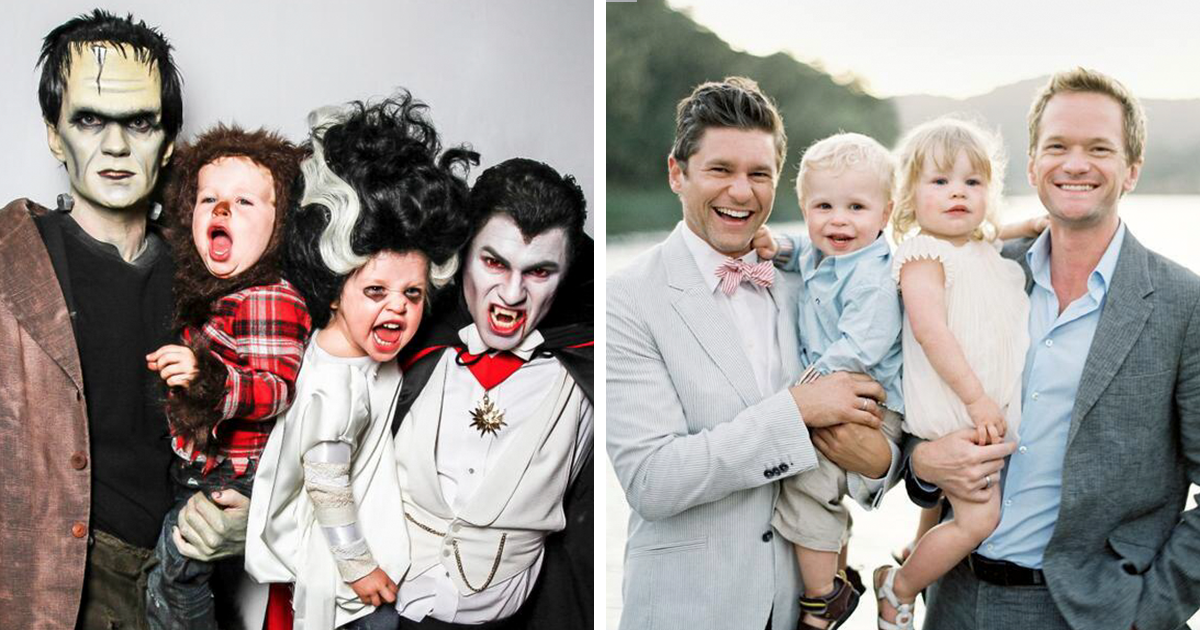 7 Times Neil Patrick Harris Cosplayed With His Family, And Absolutely Won Halloween