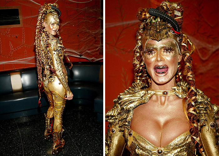 18 Times Heidi Klum Took Halloween Costumes To Another Level ...
