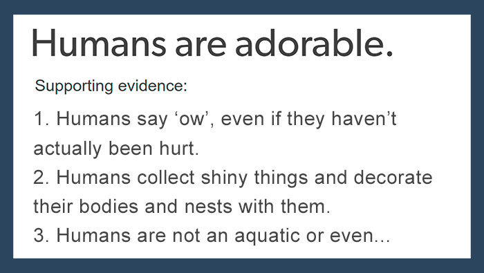 12 Reasons Humans Are Adorable