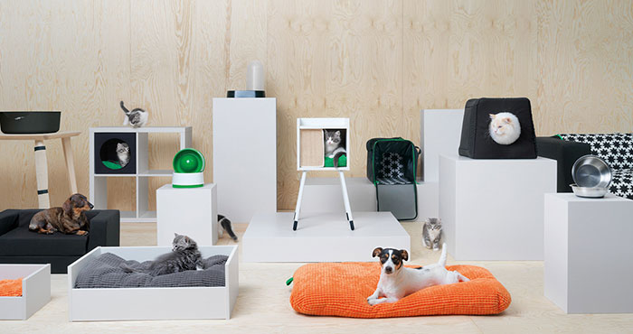 ikea cats dogs collection lurvig 1 59db1afc43944  700 IKEA Just Launched a Pet Furniture Collection