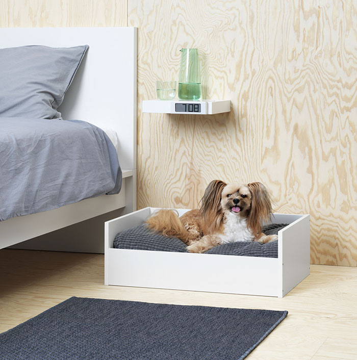 IKEA Just Launched A Pet Furniture Collection And Animal Lovers - Ikea has launched its own pet furniture collection and its paw some