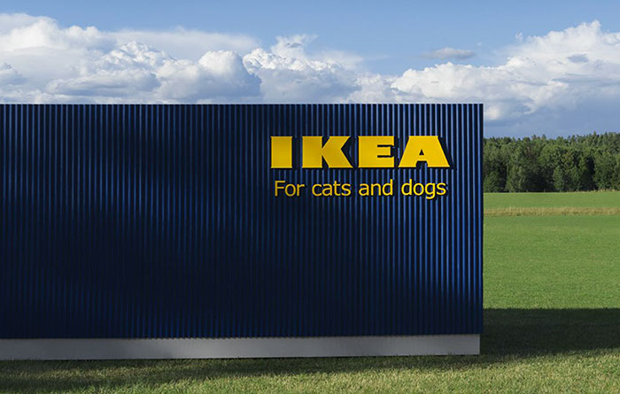 IKEA acaba de lanzar una colección de mobiliario para mascotas, y los dueños lo quieren todo