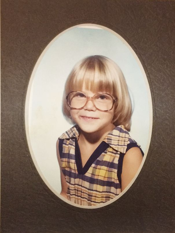 First Grade, Looking Like John Denver's Love Child, Ready To Put You In A Sweet '72 Chevy.