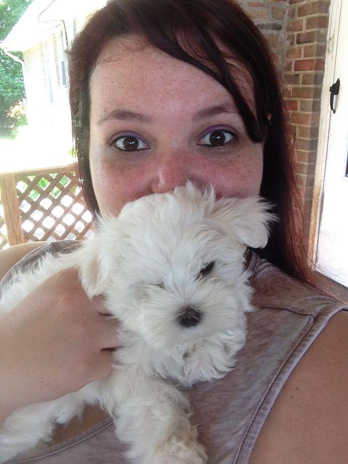 She Was Like A Happy Lil Cloud.