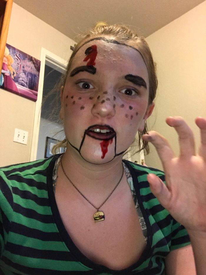 My Makeup Scary
