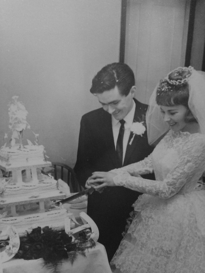 My Amazing Grandparents On Their Wedding Day Over 50 Years Ago My Nannies Dress Was Beautiful ❤️