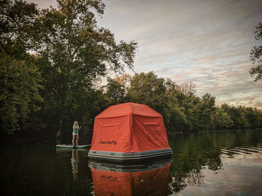 This Floating Tent Is Every Camper's Dream (Or Nightmare ...