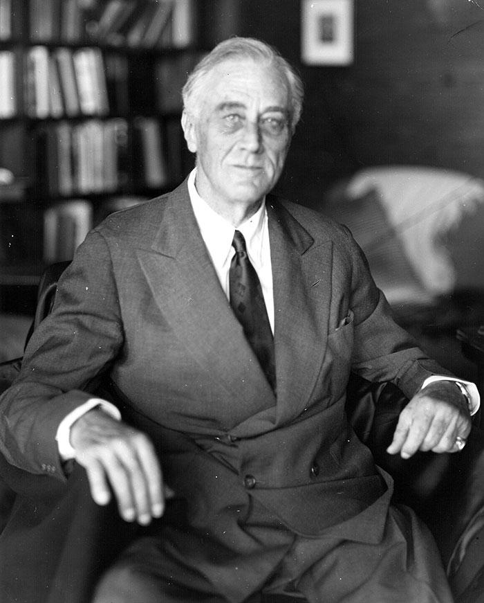 Franklin D. Roosevelt, 63, 1882-1945