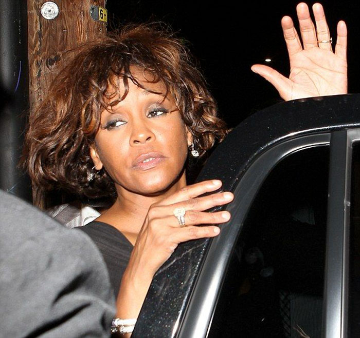 Whitney Houston, 48, 1963 - 2013