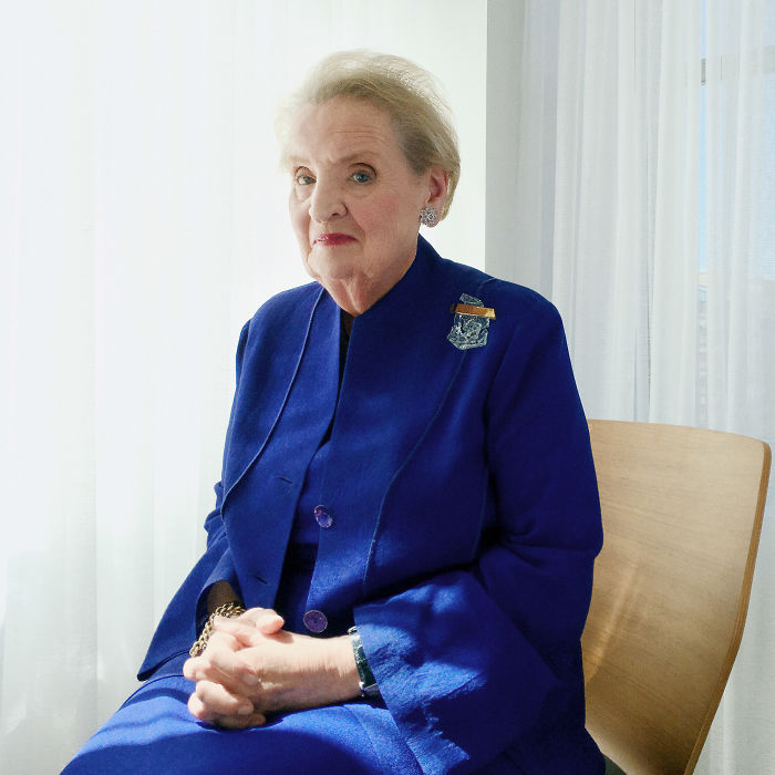 Madeleine Albright - First Woman To Become U.S. Secretary Of State