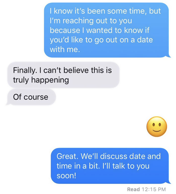 Never get responses on dating sites