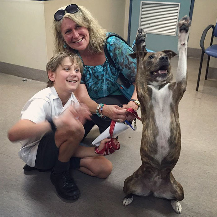 This Excited Family Just Moments After Adoption