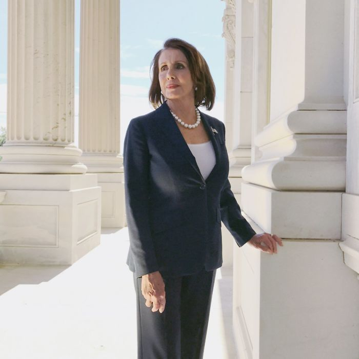Nancy Pelosi - First Woman To Become Speaker Of The U.S. House Of Representatives