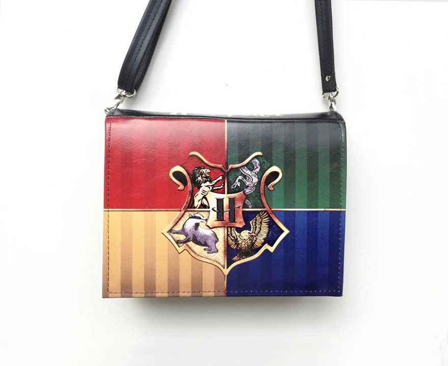 Harry Potter: The Four Houses Book Bag