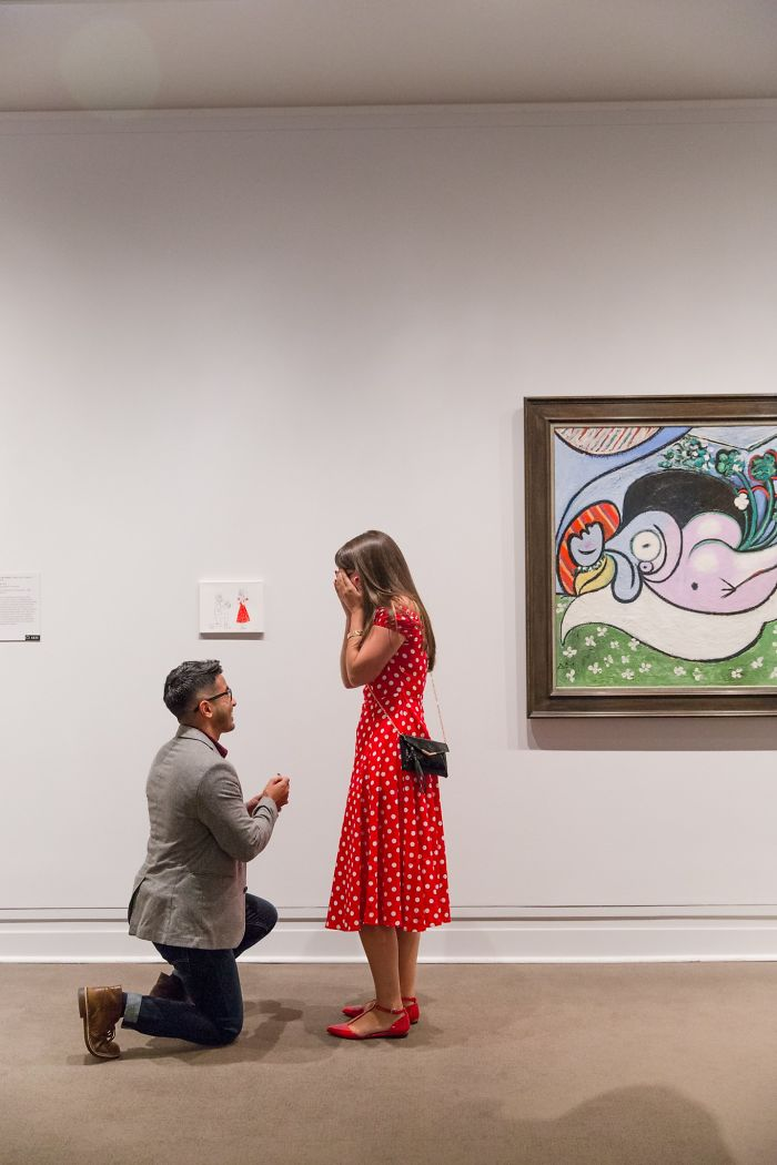 Guy\'s Proposal Will Probably Get Him Banned From The Met For Life ...