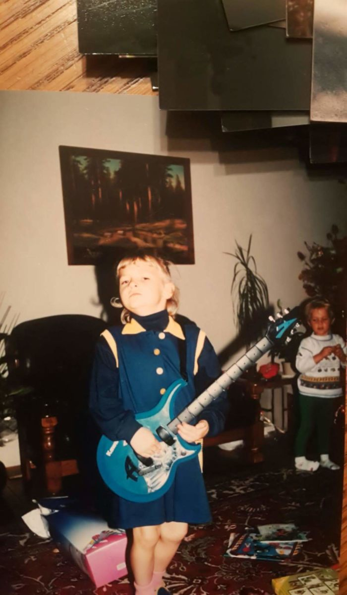 So I Was 6-7 Years Old And Dreamed About Being Rock Star