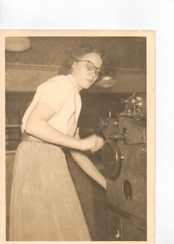 Grandma Rosie'ing It Up During Wwii