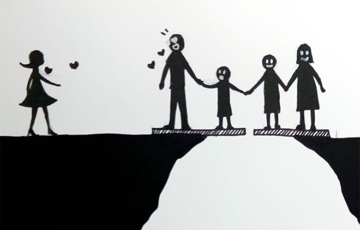 El divorcio resumido en 7 imágenes