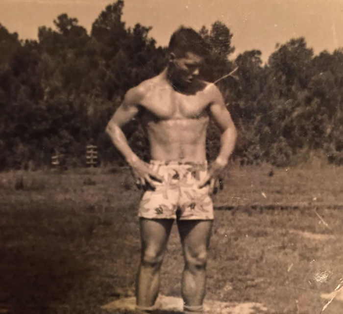 Grandma Sent Me A Picture Of My Grandpa At My Age To Make Me Feel Like Shit