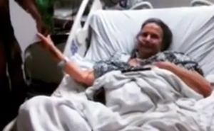 Sick Grandma Brings 'The Rock' Cutout To Hospital, And Here's What He Does When He Finds Out