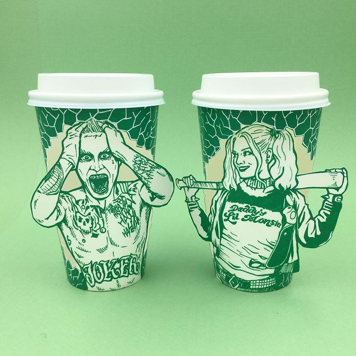 Starbucks-Cups-Drawings-Illustrator-Soo-Min-Kim-South-Korea