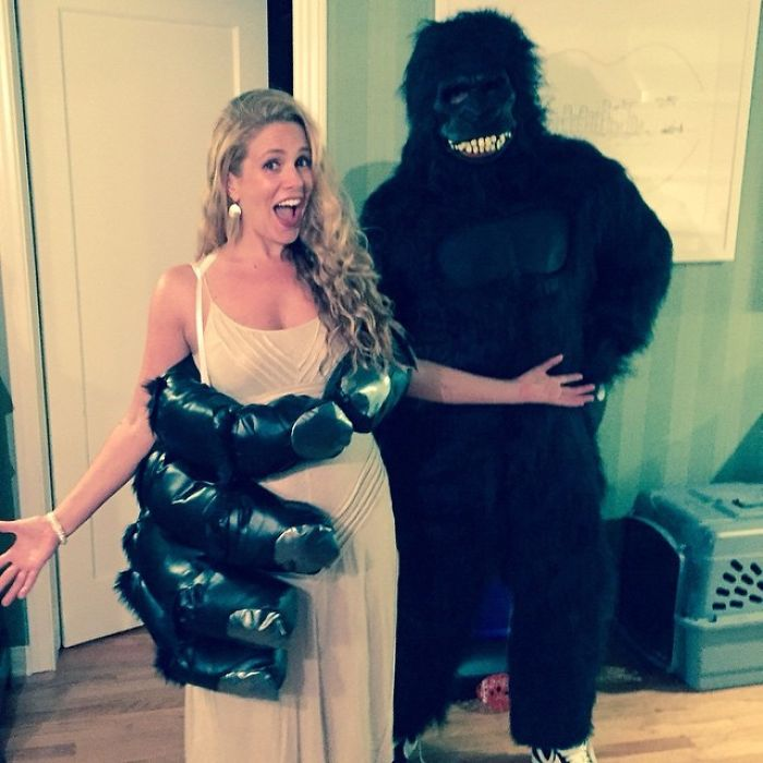 Cacee Cobb And Donald Faison As King Kong And Ann Darrow