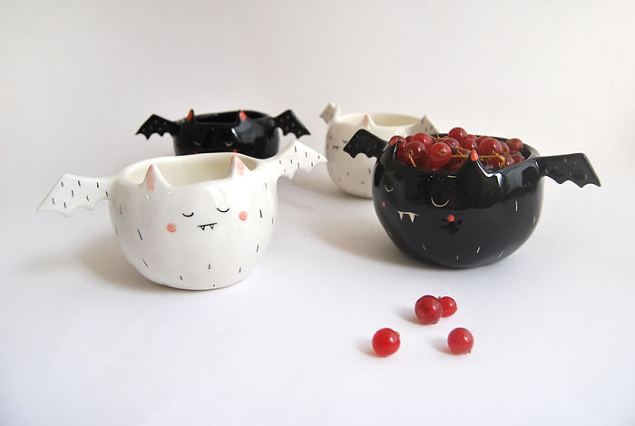 "We Make ""Spooky"" Ceramics For Halloween"