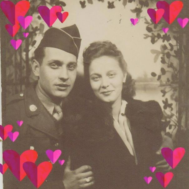 He Enlisted Beginning Of November, 1941. Married November 17th, 1941. 3 Weeks Later, We All Know What Happened. This Was Their Only Picture Together Before The War.