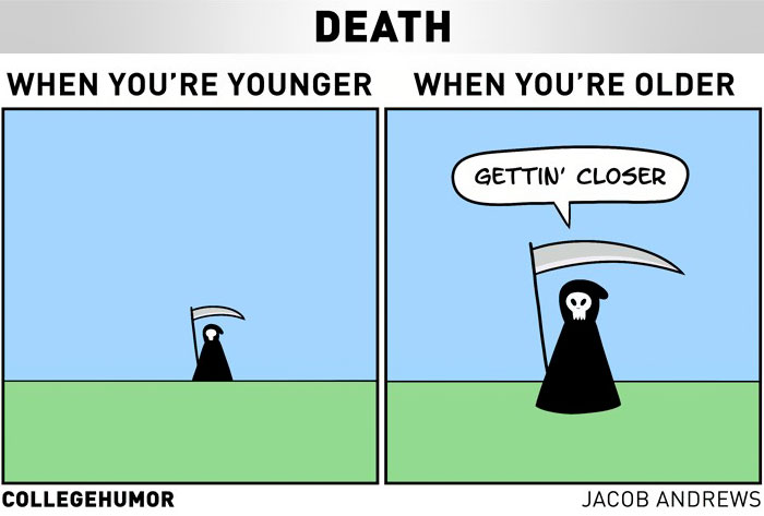 5 Hilariously Honest Comics About Getting Older That Will Make You Laugh, Then Cry