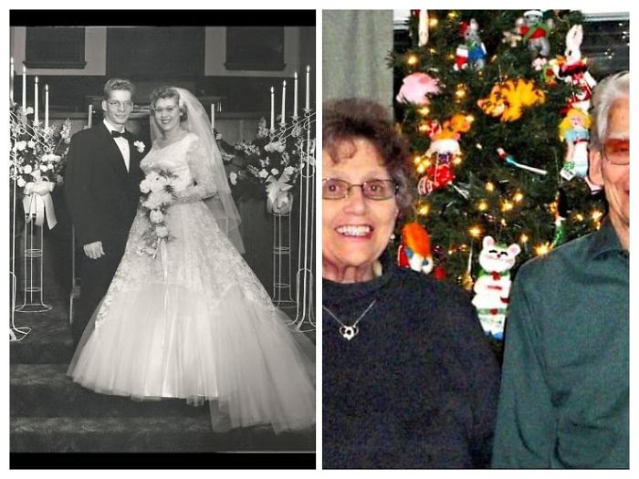 My Great Grandparent On Wedding Day And Them Them Now Will Be Married 63 Years In January Both Are Still Living Happy Together