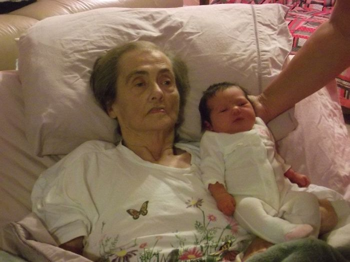 My Grandmother Got To Meet My Daughter. My Grandmother Fought So Hard To See Her, She Passed Three Days Later.