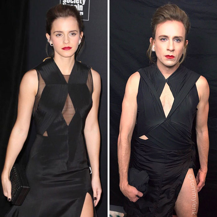 Tom Lenk As Emma Watson