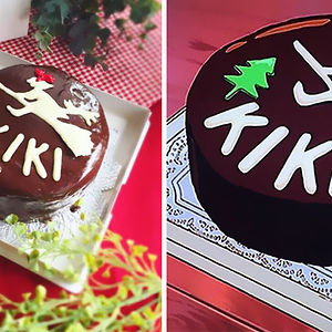 Cake From Kiki's Delivery Service