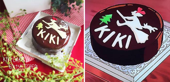 Kuchen aus Kiki's Delivery Service