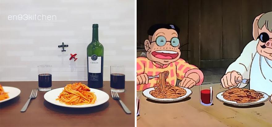 Spaghetti From Porco Rosso