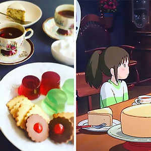 Tea Party In The House Of Spirited Away