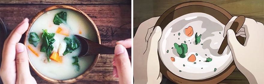 Soup From The Secret World Of Arrietty