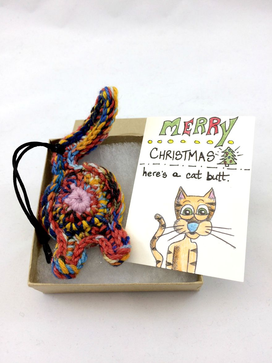 I Drew Art Cards So It\'s More Awesome To Give Someone A Cat Butt As ...