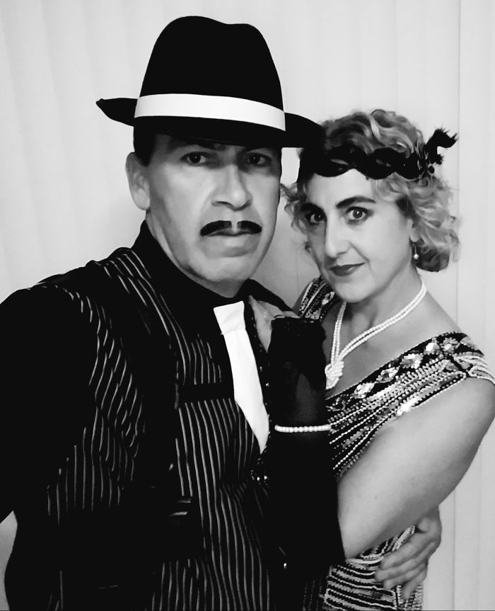 """""""Rocco & Molly"""" – Always Wanted To Do A 1920's Theme With My Handsome Hubby!"""