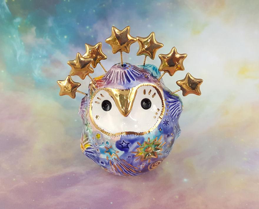 Celestial Fairy Owl