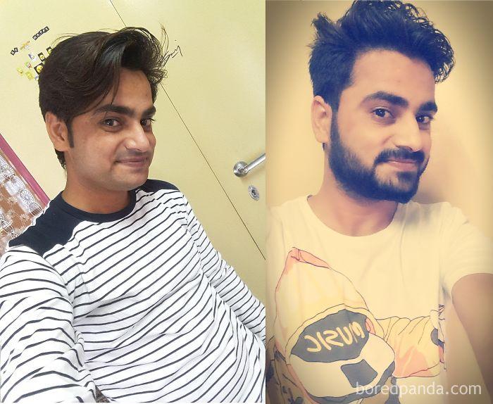 Boys Also Can Grow Beard :p